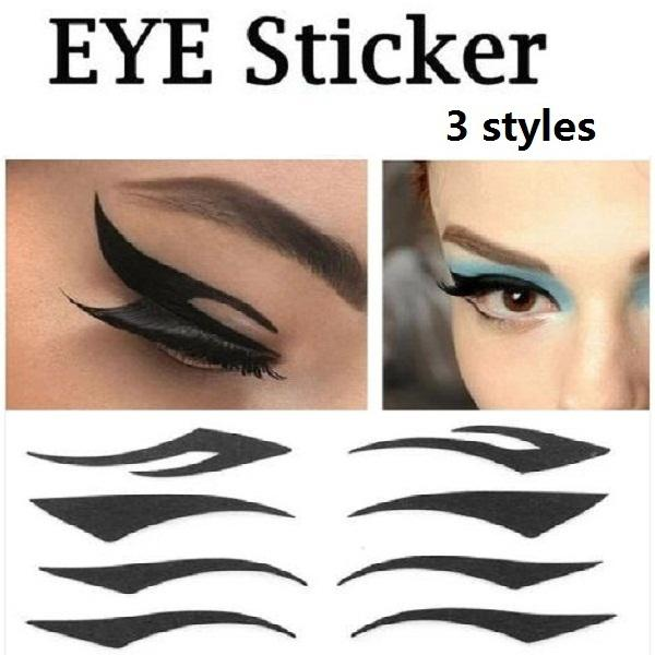 Stripe Black Eyeliner Stickers Eye Liner Sticker Eye ...