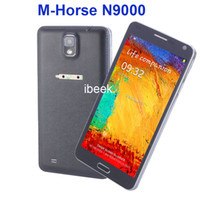 GSM850 Single Core Android 5.5 Inch Cheap Note 3 M-HORSE N9000 Android 4.2 Smartphone SP6820A 1.0GHz Dual Cameras Capacitive Mobile phones