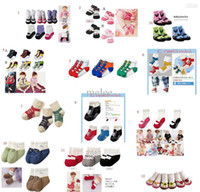 baby socks sneakers - Fedex EMS DHL Ship NEw Infant Baby Shoe Socks Infant Toddler Sneakers Girl Shoe Socks Trumpette Sweet Feet Assorted T CM Melee