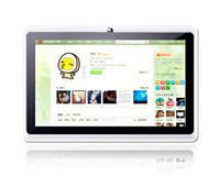 Wholesale Q88 dual Camera A13 MID Cheap Tablet PC A13 Q88 inch Capacitive Screen Android Wifi GHz DHL