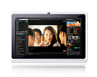 al por mayor 7 inch mtk6515-7 pulgadas Quad core tablet PC androide de Allwinner A23 Q88 Pro androide 4.2.2 WIFI doble cámara OTG capacitiva libre screenDHL