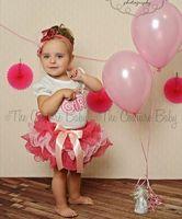 Wholesale Birthday Girl t shirt cake skirt tutu gauze pettiskirt dress suit cake skirt little girl suit children set outfit clothes
