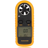Wholesale GM816 Inch LCD Outdoor Digital Anemometer Wind Speed Scale Meter Handheld Pocket NTC Temperature Gauge OUT_010