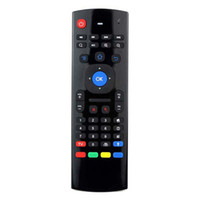 Wholesale MX3 GHz Wireless Remote Controller Somatosensory IR Learning Axis Mic Voice D Air Fly Mouse Keyboard for Android TV Box K0240M