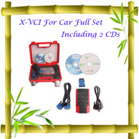 Wholesale X VCI For Car Full Set Including CDs for best price