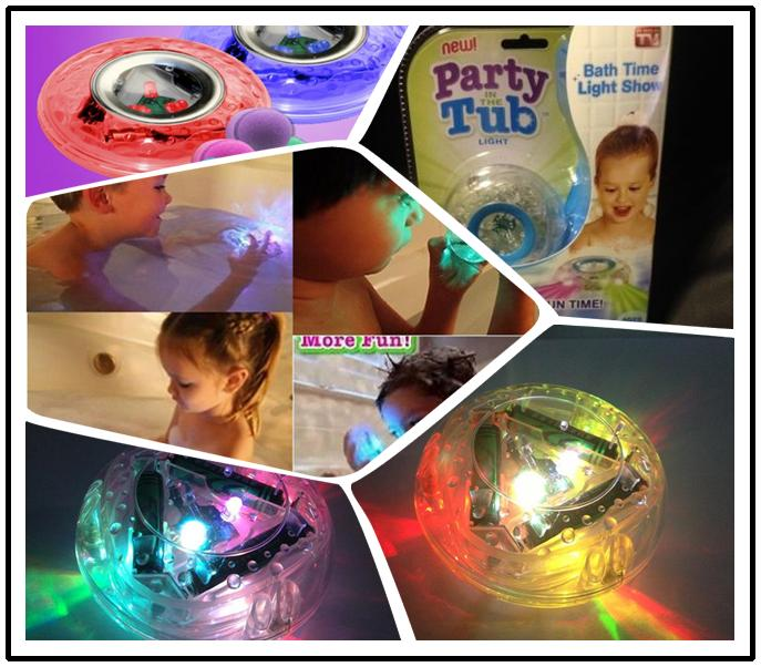Party In The Tub Light Bathtub Light Up Toy Waterproof Led Light Toy  PreTeens Bath Tub Tizzies T337 Led Light Toys Party Tub Bath Tub Tizzies  Online With ...