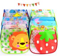 Wholesale 2014 New Fashion Semitransparent Baby Turn Over Saliva Towel Bibs Kids EVA Soft Bibs Infant Waterproof Bibs KSJ