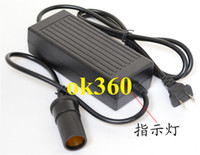 Wholesale High frequency V to V DC switch power adapter A Car Cigarette Lighter W inverter H2002
