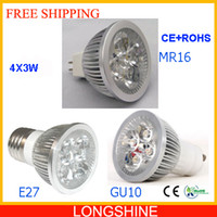 Wholesale by FEDEX High power high lumen Led Dimmable Light Bulbs GU10 X3W Bright Warm White Led Spotlight Lamp V