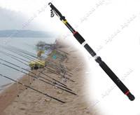 Wholesale 8 Feet Carbon fiber Fishing Telescopic Rod Fishing Pole