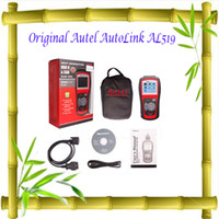 Wholesale Autel AutoLink AL519 On Board Diagnostics OBDII and CAN Scanner Tool Auto Fault Code Reader Car Diagnostic Tools