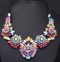 african fashion designers - fashion necklace designer statement neon necklaces women RC141327