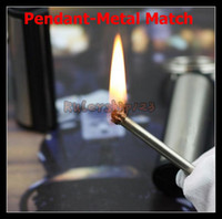 metal match lighter - Pendant Camping Metal Match Camping Military waterproof cigarette Lighter Matches DHL