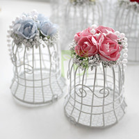 Wholesale 12 Fairy Tale Metal Candy Gift Chocolate Favor Boxes with Multi Coloured Flower amp Pearl As Tinker Bell cm cm