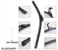 Wholesale Car Wiper Blade Natural Rubber Car Wiper auto soft windshield wiper factory price