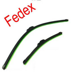 Pára-brisas Fedex envio Wiper Blade Universal macio Frameless Car Lâmina Wipers escolha 14-24inch # 7410