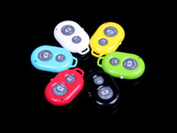 Wholesale Bluetooth Remote Camera Control Self timer Shutter for iPhone S C S for Galaxy S4 Note3 Smartphones and Tablet