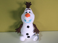 Wholesale 2014 New Arrival Cartoon Movie Frozen Olaf Plush Toys For Sale cm Cotton Stuffed Dolls