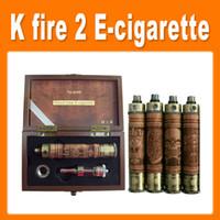 k fire ecig - K Fire Wood E cig Vision Spinner Battery Variable Voltage Metal bottom Battery Mod K Fire Ecig Kit with Protank3 via UPS free