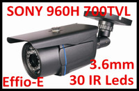 Wholesale CCTV Security Sony Effio High Density TVL Day Night Infrared Color IR LED waterproof CCD Camera with mm wide angle lens