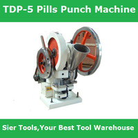 5T   10% Discount !!TDP-5 Punch Press Machine Cast Iron Tablet & Pilling Making 3600 pc per hour,160KG Derliery by DHL