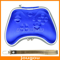 For Xbox Multi-Functional Leather Best Pouch Carry Bag Case Accessory For Microsoft Xbox One Gamepad Controller Black Free Shipping