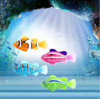 Unisex fish price - Factory price robo fish Hot Novelty Water Activated Magical Turbot Fish Christmas Magic Kids Toys