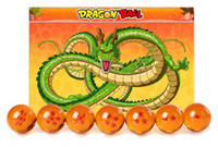 Wholesale 7 CM inch New In Box DragonBall Stars Crystal Ball Set of Dragon Ball Z Balls Complete Fashion art and craft Set Piece