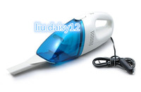 blue+white high power vacuum - DHL FREE Drop Shipping DC V W Car cleaner portable Handheld Vacuum High Power auto Clean mini access Dust Collector dry wet amphibious