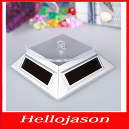 Wholesale 7140 for retail by China post Solar energy boosters in rotary display the turntable