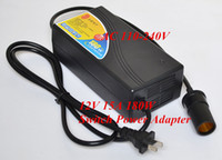 Wholesale AC V to V A W Power Switch Adapter w Car Cigarette Lighter Inverter High frequency H2001