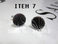Wholesale mens shirt cuff links men jewelry Men cufflinks classic mix styles pairs drop ship retail accept