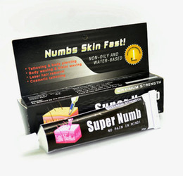 Wholesale Tattoo Numb g Super Anaesthetic Tattoo Numbing Cream For Tattoo Piercing Makeup Numbs Skin Fast Tattoo Kit Supply