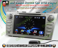 Wholesale 2007 Toyota Camry GPS Navigation in dash Car DVD multimedia Player system din car radio stereo Free GPS map camera