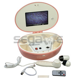 Wholesale Portable LCD Skin Facial Hair Diagnosis System Scanner Analyzer Machine Pink YJ102