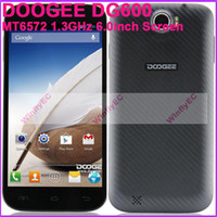 Wholesale DOOGEE DG600 Unlocked Smart Phones MTK6572 Dual Core GHz G inch IPS Screen Cam MP GPS G WCDMA Android OS MAh DHL SG Post