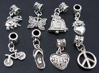Wholesale charms dangle pendant fit bracelet or necklace