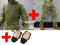Wholesale Emerson bdu G3 Combat uniform suit amp Pants with knee pads Emerson BDU Military Army uniform AT FG