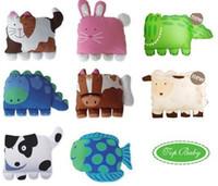 Compra Ropa de cama para niños-Superior al por menor del bebé 8 diseños opcionales muchachas de los bebés de la historieta de cama y almohada caso los niños Cozy Animales fundas de almohada