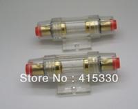Handlebars China (Mainland)  Car AGU Glass Fuse Holder Block Gold Plated For Car Audio Gauge