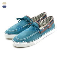 Wholesale Men s Casual Shoes Zapato Del Boat Shoes Slip On Jeans Canvas Men Flats Loafer