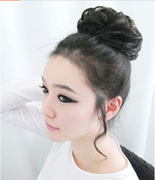 Wholesale Korean Style wig buds fluffy hair bands hair rope wig hair headwear Hair Accessories