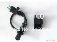 Cheap Ignition Coil Gy6 50cc - 150cc Spark Plug Wire & CDI Scooter Mope
