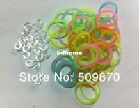 Wholesale 2014 New Diy Glow in the dark Silicone Band New Handmade Rainbow Loom Rubber band silicone Rubber Band