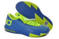 Wholesale Kevin Durant Women Athletic Shoes New KD6 VI Basketball Shoe Discount Cheap Brand Name Shoe Size