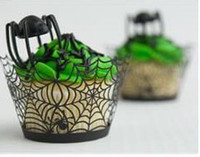 Wholesale Cheap Laser Cut Cupcake Wrappers Wedding Decorations Party favors Birthday Party Baby Shower christmas cupcake holders