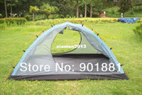 Wholesale Outdoor Backpacker Hiking person ultralight tent Kgs ripstop nylon waterproof PU3000mm well ventilated Double D Entrances