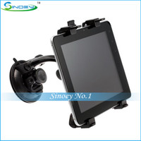 Wholesale New Car Holder Stand Mount Kit for Tablet PC iPad iPad2 IPad Mini P1000 Ebook GPS PDA Mobile Phone MTK GPS Phablet