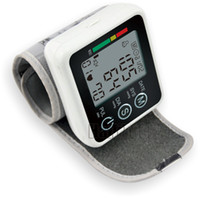 Wholesale Automatic Digital Wrist Blood Pressure and Pulse Monitor Sphygmomanometer Portable Blood Pressure Monitor Health Care