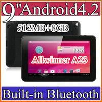 9 inch 5 inch ebook reader - 20PCS cheap inch Dual camera core Android Tablet PC MB GB GHz Allwinner A23 Bluetooth Ebook Reader